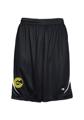 Two Tone Logo Mesh Football Shorts