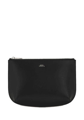 Sarah Smooth Leather Pochette