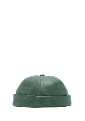 Beton Cire Leather Hat