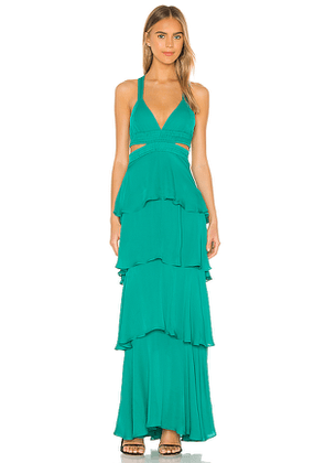 A.L.C. X REVOLVE Lita Dress in Teal. Size 0,4,6,8.