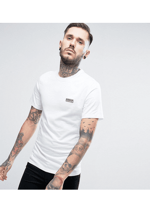 Barbour Slim Fit T-Shirt with International Logo In White