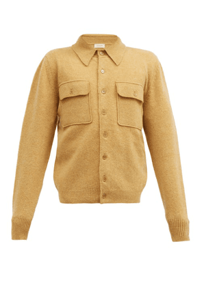 Lemaire - Patch-pocket Wool Cardigan - Mens - Beige