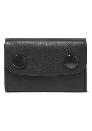 Ann Demeulemeester Leather Cardholder Woman Black Size --