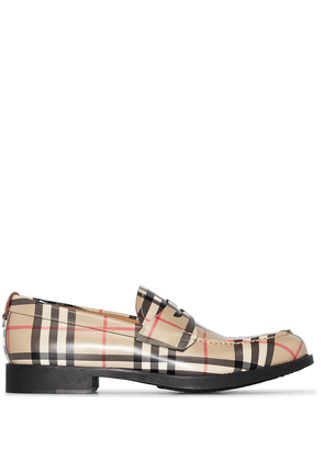 Burberry Emile Vintage check loafers - Neutrals