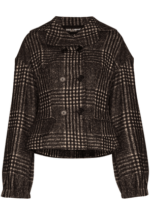 Dolce & Gabbana checked jacket - Brown