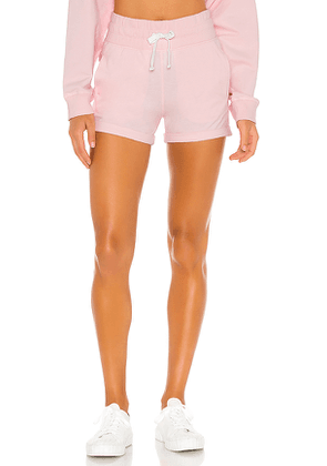 lilybod x REVOLVE Tika Rolled Cuff Short in Pink. Size M,S,XS.
