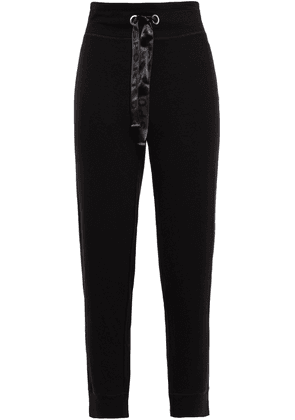 Dkny French Terry Track Pants Woman Black Size M