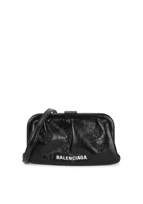 Balenciaga Cloud XS Black Leather Clutch