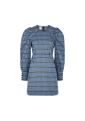 Baum Und Pferdgarten Aidine Checked Taffeta Mini Dress