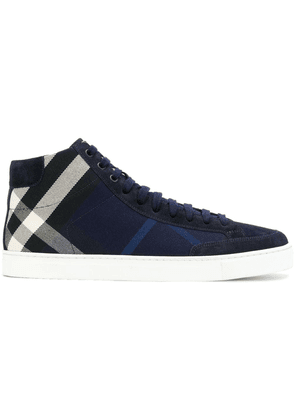 Burberry Olive sneakers - Blue