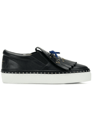 Burberry fringed sneakers - Blue