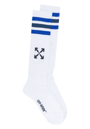 Off-White Arrows-motif calf-length socks