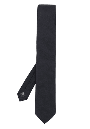 Dolce & Gabbana ribbed-effect tie - Blue