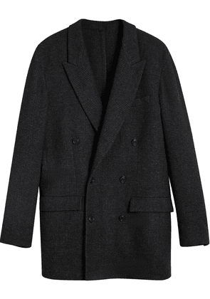 Burberry Prince of Wales double-breasted jacket - Grey