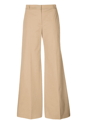 Burberry wide-leg trousers - Brown