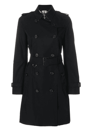 Burberry The Kensington - Long Trench Coat - Black