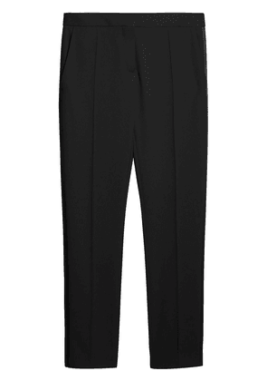 Burberry front pleat trousers - Black