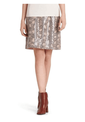Marc Cain Collections Snakeskin Effect Skirt PC 71.10 J04