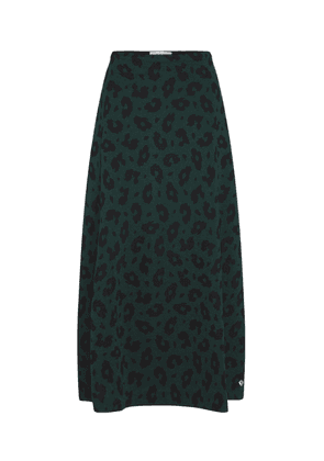Fabienne Chapot Phene Animal Print Skirt - Leopard Green
