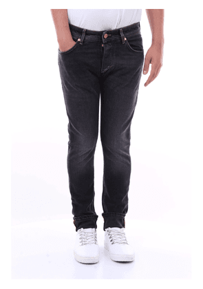BARBA Jeans Skinny Men Black