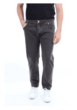 BARBA Jeans Straight Men Smoke gray