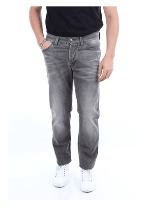 BARBA Jeans Slim Men Grey