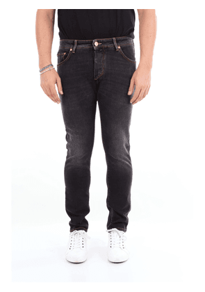 BARBA Jeans Slim Men Dark jeans