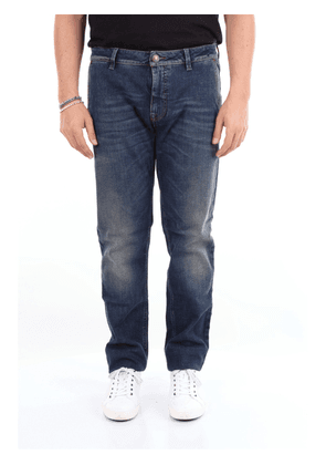 BARBA Jeans Straight Men Dark jeans