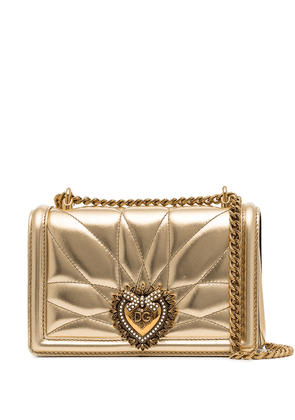 Dolce & Gabbana small Devotion quilted leather cross-body bag -
