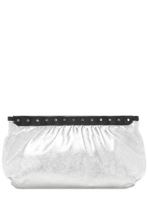 Luz Leather Clutch