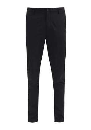 Burberry - Shibden Straight-leg Cotton-twill Trousers - Mens - Black