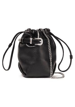 Iro Belty Buckled Leather Belt Bag Woman Black Size --