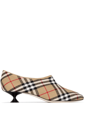 Burberry Tripton 35mm Vintage Check pumps - Neutrals
