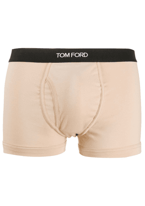 Tom Ford logo band boxers - Neutrals