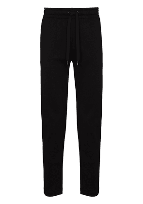 Dolce & Gabbana crown logo track trousers - Black