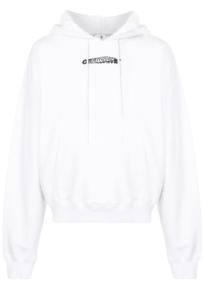 Off-White graphic-print hoodie