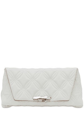 Ring Soft Quilted Leather Pouch