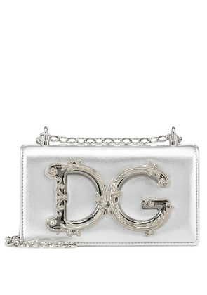 DG Girls Small leather shoulder bag