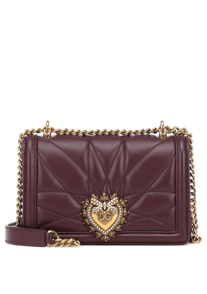 Devotion Small leather shoulder bag