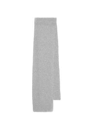 Rubens ribbed knit cashmere scarf