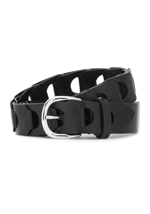 Zak leather belt