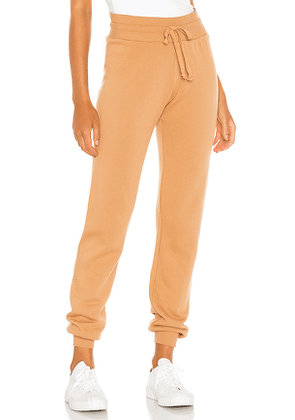 LA Made Slim Sweatpant in Tan. Size S,XS.