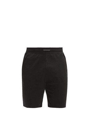 Lahgo - Organic Pima-cotton Jersey Shorts - Mens - Black