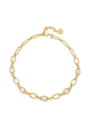 Ben-amun Gold-tone Faux Pearl Necklace Woman Gold Size --