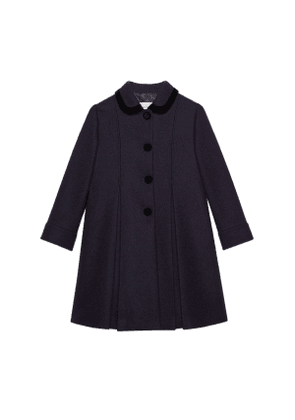 Petit wool mohair coat