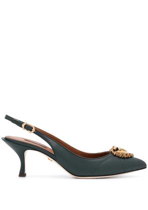 Dolce & Gabbana Devotion 70mm pumps - Green