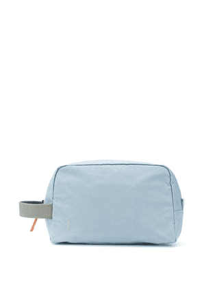 Ally Capellino embroidered logo wash bag - Blue