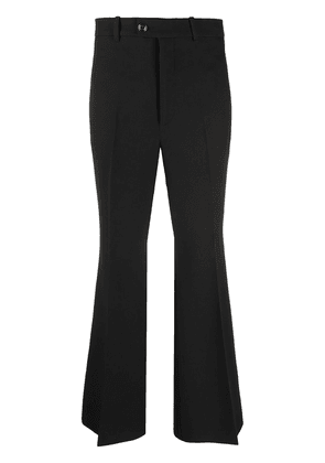 Gucci pressed-crease cropped tailored trousers - Black