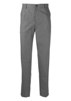 Dolce & Gabbana Prince of Wales tailored trousers - Grey