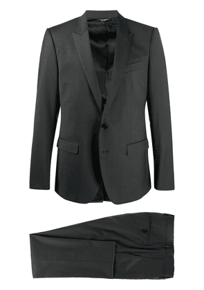 Dolce & Gabbana notched lapels two-piece suit - Grey